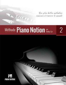 2e livre de la Méthode Piano Notion_Couverture