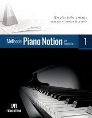 1er livre de la Méthode Piano Notion_version française.