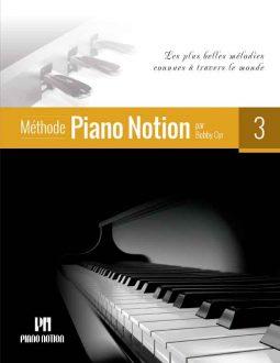 Le troisième livre de la Méthode Piano Notion_Couverture